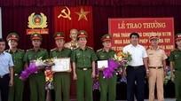 Công an tỉnh trao thưởng ban chuyên án 917M
