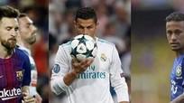 Ronaldo, Messi, Neymar vào top ba giải 'The Best'