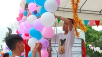 Sôi động chương trình chào tân sinh viên tại Đại học Vinh