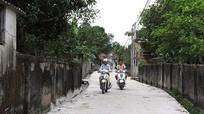 Nam Đàn: Cung ứng gần 7.000 tấn xi măng làm đường nông thôn mới