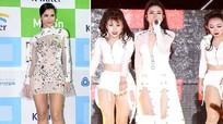 Báo chí Hàn Quốc khen Đông Nhi gợi cảm với chân dài