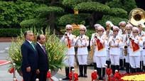 Lễ đón Thủ tướng Hungary và Phu nhân thăm chính thức Việt Nam