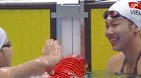 Ánh Viên tiếp tục phá kỷ lục Đại hội, đoạt HC vàng AIMAG 5