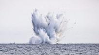Tiêm kích lao xuống biển khi trình diễn, phi công tử nạn