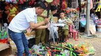 Qùy Hợp: Tiêu hủy 238 đồ chơi trẻ em kích động bạo lực