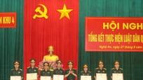 16 tập thể, 22 cá nhân được khen thưởng trong thực hiện Luật Dân quân tự vệ