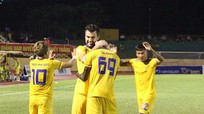 Ngoại binh tỏa sáng, SLNA bước một chân vào chung kết Cup Quốc gia