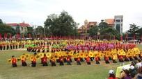Trên 1.000 người tham dự Đại hội thể dục thể thao huyện Qùy Châu