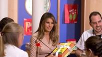 Sách Melania Trump tặng cho thư viện trường Mỹ gây tranh cãi