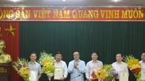 Lãnh đạo tỉnh Nghệ An nhận Kỷ niệm chương 'Vì sự nghiệp đối ngoại Đảng'