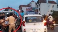 Khẩn trương truy tìm đối tượng gây trọng thương cảnh sát giao thông