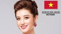 Huyền My lọt top 10 thí sinh Hoa hậu được yêu thích nhất