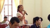Cử tri kiến nghị cần quan tâm chế độ trực trưa cho giáo viên mầm non