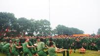Hội thi kéo co của cán bộ, chiến sỹ Trung đoàn 335