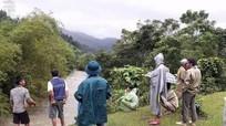 Nước suối dâng đột ngột một người dân ở Con Cuông bị cuốn trôi