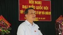 Cử tri huyện Đô Lương: 'Đề nghị cho phép cán bộ xóm được nộp bảo hiểm xã hội'