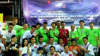 Giải bóng đá người Việt ở Thái Lan hướng về miền Trung