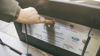 Ghế sạc pin di động miễn phí sử dụng năng lượng sạch