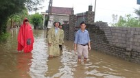 Các địa phương ở Nghệ An khẩn trương khắc phục hậu quả sau mưa lũ