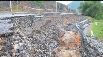 Sự cố sạt trượt đường ở Hưng Nguyên: cần rà soát lại các vị trí xung yếu