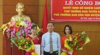 Huyện ủy Kỳ Sơn có tân Phó Trưởng ban Tuyên giáo và Dân vận