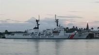 Tàu CSB 8020 Việt Nam sẵn sàng lên đường về nước