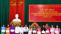Vinh danh 15 giảng viên trường chính trị xuất sắc