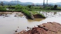 Yên Thành: Vỡ hồ chứa Lò Che, nhiều hồ khác nguy cơ vỡ nếu mưa tiếp