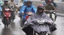 Ảnh hưởng của không khí lạnh tăng cường, Bắc Trung Bộ có mưa