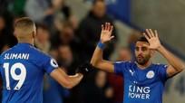 Mahrez giúp Leicester cầm chân West Brom