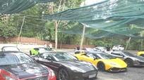 Hàng loạt siêu xe của đại gia xuống phố