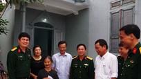 Bàn giao nhà tình nghĩa cho thân nhân liệt sỹ ở giáo xứ Bồ Sơn