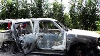 Sáu nghi can phóng hỏa ôtô chở giám đốc bị bắt