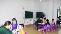 400 học sinh mầm non được khám sức khỏe miễn phí