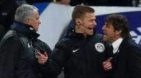 HLV Mourinho và Conte khẩu chiến kịch liệt