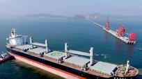 Đưa vào khai thác cầu cảng Vissai ở Nghệ An phục vụ tàu 70.000 tấn