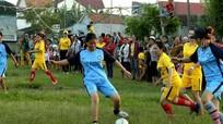 Giao lưu bóng đá gắn kết tình thân giữa phụ nữ lương - giáo