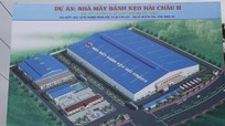 Khởi công nhà máy bánh kẹo 360 tỷ đồng ở Nghệ An