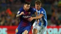 Messi tịt ngòi, Barca nhẹ nhàng vượt ải Malaga