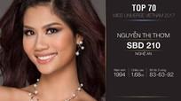 Thêm một người đẹp Nghệ An vào bán kết Hoa hậu Hoàn vũ Việt Nam