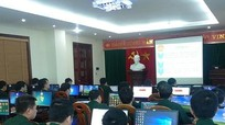 Chuyển giao phần mềm quản lý chỉ huy cho Bộ chỉ huy Quân sự Nghệ An