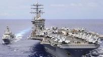 Mỹ điều 3 tàu sân bay tới gần bán đảo Triều Tiên