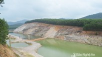 Sẽ cưỡng chế hành vi lấn chiếm đất thuộc Dự án Hồ thủy lợi Bản Mồng