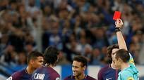 Neymar nhận án treo giò một trận