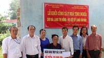 Hỗ trợ 50 triệu đồng xây nhà tình nghĩa cho vợ liệt sỹ