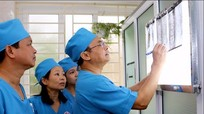 Giáo sư đầu ngành chuyển giao kỹ thuật tại Bệnh viện Phục hồi chức năng Nghệ An