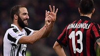 Juventus hạ Milan bằng 'song kiếm hợp bích' Higuain - Dybala