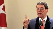 Ngoại trưởng Cuba bác bỏ cáo buộc sóng âm khi đang ở trên lãnh thổ Mỹ