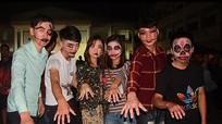 Hóa trang trong bữa tiệc Halloween