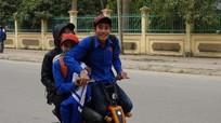 Hơn 100 học sinh ở Yên Thành bị xử phạt do vi phạm Luật giao thông